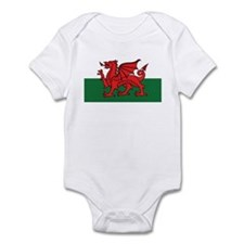 Flag of Wales Onesie