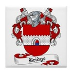 Bridge Family Crest Tile Coaster