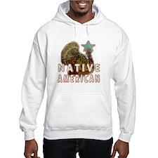 Native American Turkey Hoodie