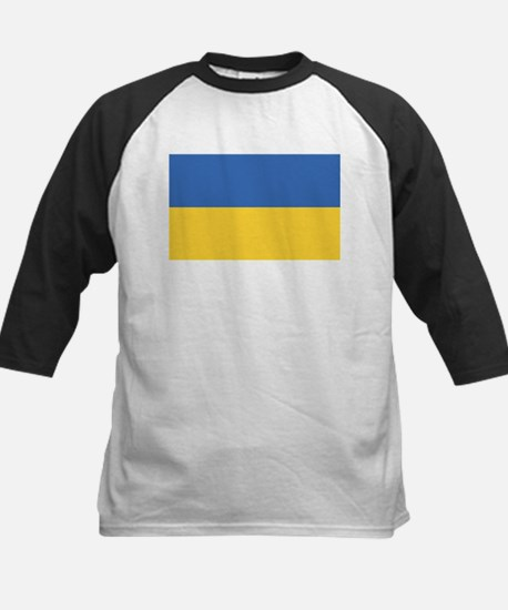 Flag of Ukraine Kids Baseball Jersey