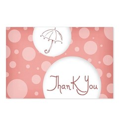 thank you Postcards (Package of 8)