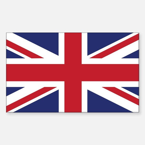 Flag of the United Kingdom Sticker (Rectangle)