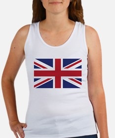 Flag of the United Kingdom Women's Tank Top