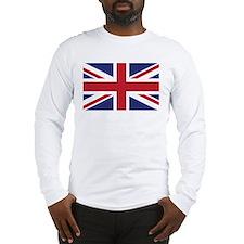 Flag of the United Kingdom Long Sleeve T-Shirt