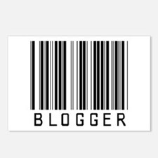Blogger Barcode Postcards (Package of 8)