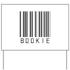 Bookie Barcode Yard Sign