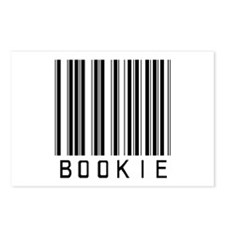 Bookie Barcode Postcards (Package of 8)
