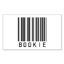Bookie Barcode Rectangle Decal