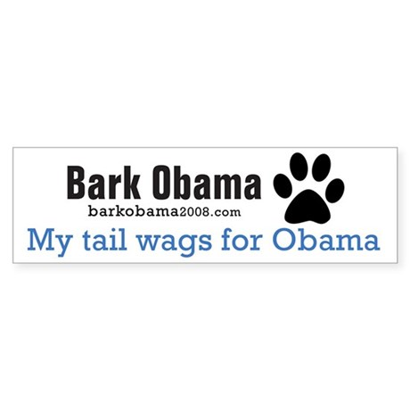 My tail wags for Obama
