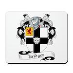 Bridges Family Crest Mousepad