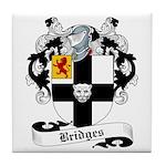 Bridges Family Crest Tile Coaster