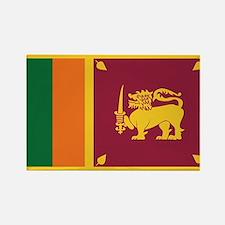 Flag of Sri Lanka Rectangle Magnet
