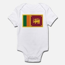 Flag of Sri Lanka Infant Bodysuit