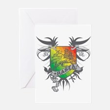 Rasta Winged Greeting Card