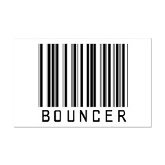 Bouncer Barcode Posters