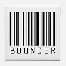 Bouncer Barcode Tile Coaster