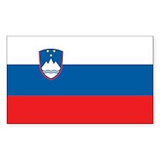 Flag of Slovenia Rectangle Decal