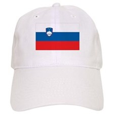 Flag of Slovenia Baseball Cap