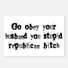 Republican Bitch Postcards (Package of 8)