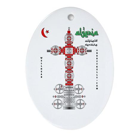 Algeria Oilfield Service Oval Ornament