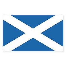 Flag of Scotland Rectangle Bumper Stickers