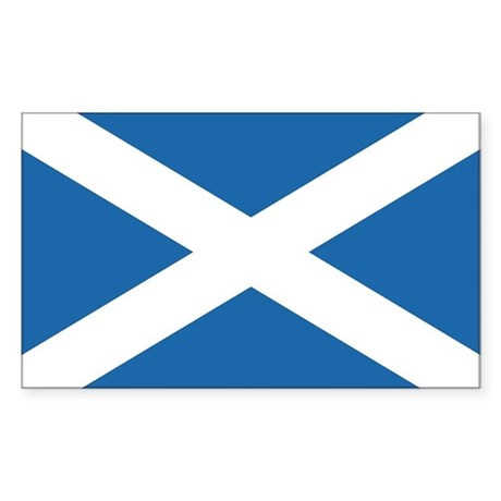 Flag of Scotland Rectangle Sticker
