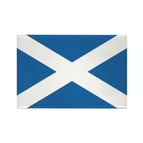 Flag of Scotland Rectangle Magnet