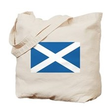 Flag of Scotland Tote Bag