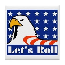 Let's Roll Tile Coaster