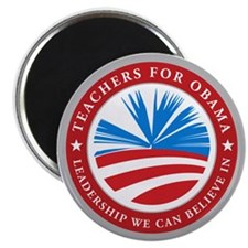 Teachers For Obama Magnet