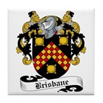 Brisbane Family Crest Tile Coaster