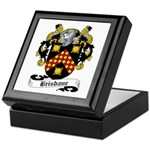 Brisbane Family Crest Keepsake Box