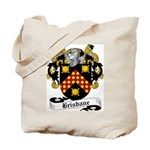 Brisbane Family Crest Tote Bag