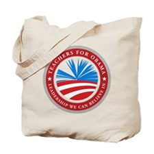 Teachers For Obama Tote Bag