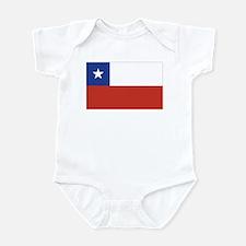 Flag of Chile Infant Bodysuit