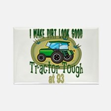 Tractor Tough 93rd Rectangle Magnet