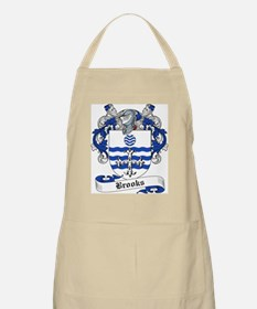 Brooks Family Crest BBQ Apron