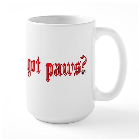 got paws? Large Mug