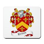 Broun Family Crest Mousepad