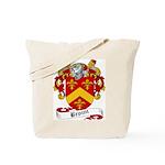 Broun Family Crest Tote Bag
