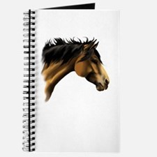 BuckSkin Horse Face Journal