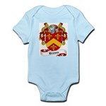 Brown Family Crest Infant Creeper