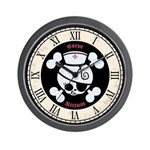 Vintage Dolly Rn Wall Clock