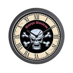 Chromeboy Carpe Noctern Wall Clock
