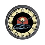Lead Sled Wall Clock