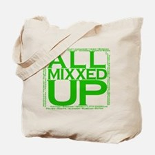 ALL MIXXED UP (green) Tote Bag