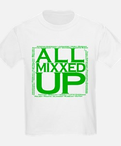ALL MIXXED UP (green) T-Shirt
