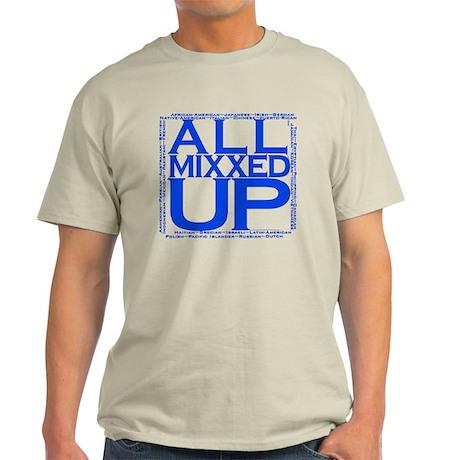 ALL MIXXED UP (blue) Light T-Shirt