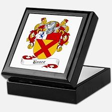 Bruce Family Crest Keepsake Box