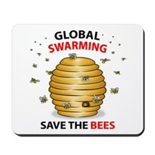 Save The HoneyBee Environmental Mousepad